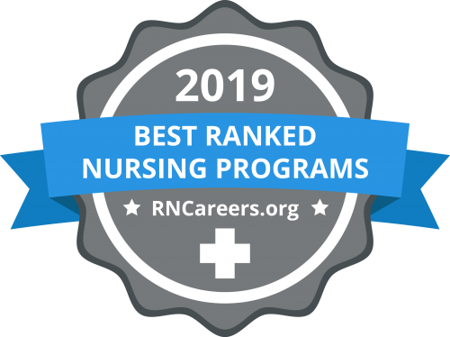 best nursing schools badge for 2019